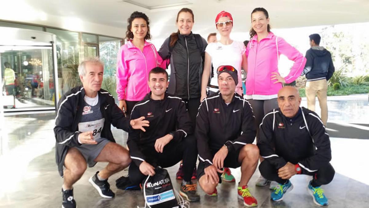 Eker I Run Team, Runatolia Maratonu'ndan 3 madalya...