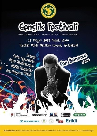 Terakki Vakfı Okulları'da 14. Gençlik Festivali 17 Mayıs'ta