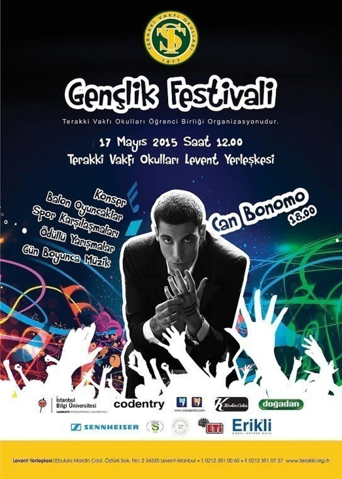 Terakki Vakfı Okulları'da 14. Gençlik Festivali 17...