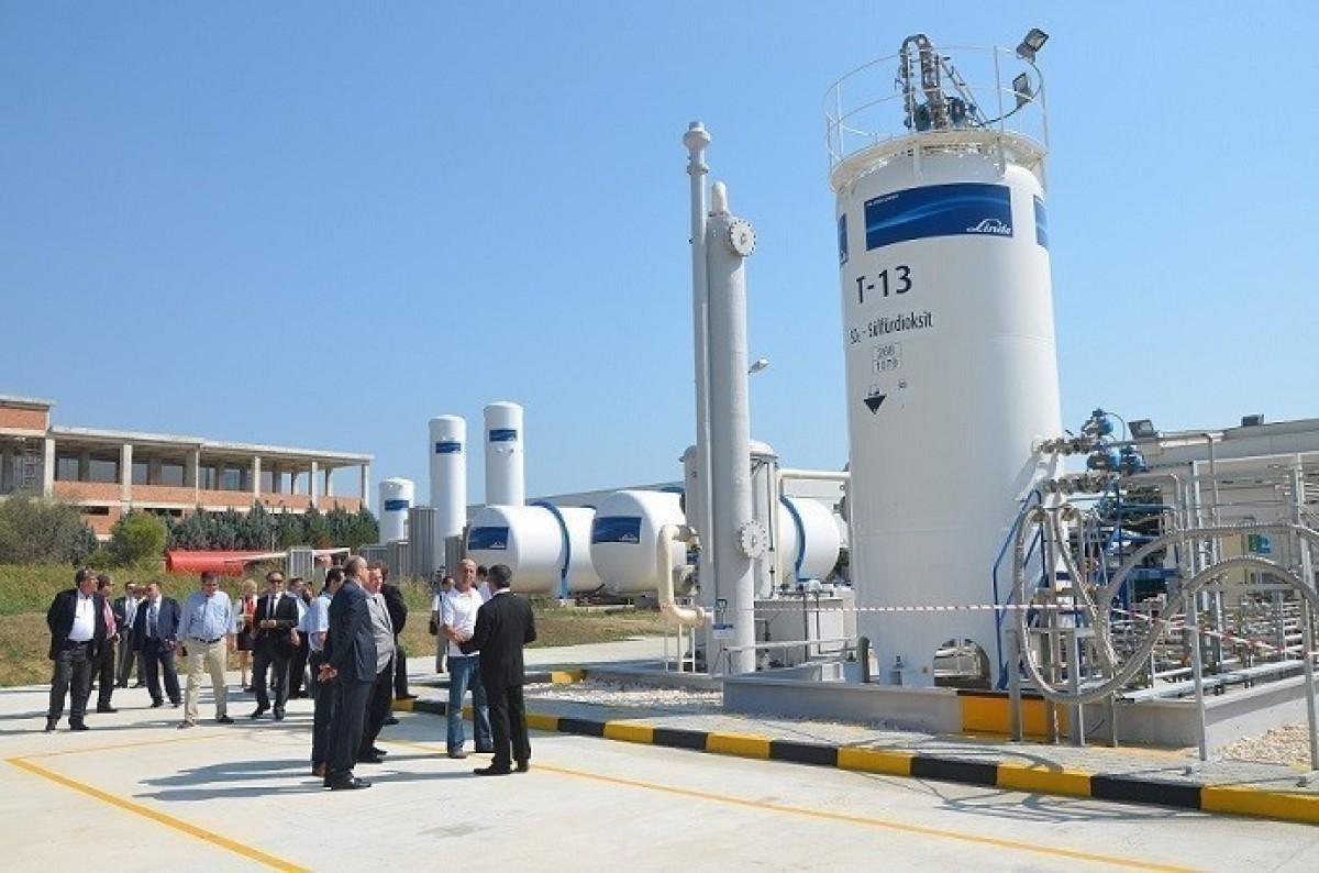 Linde, Kimyasal Gazlar alanında üretim yelpazesini...