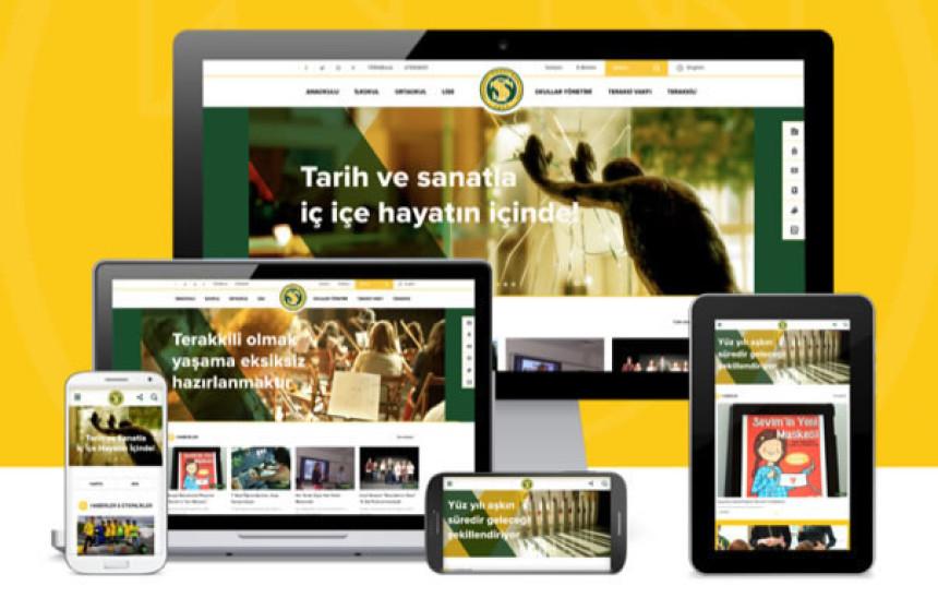 Terakki Vakfı Okulları Web Sitesi Amerika'dan Mükemmellik Ödülü