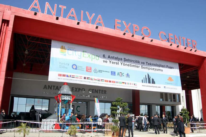 6. City Expo-Antalya Şehircilik ve Teknolojileri Fuarı Başladı