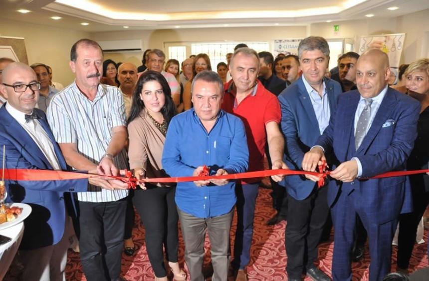 Pyramids Grup Fuarcılık Antalya Şubesi Açıldı