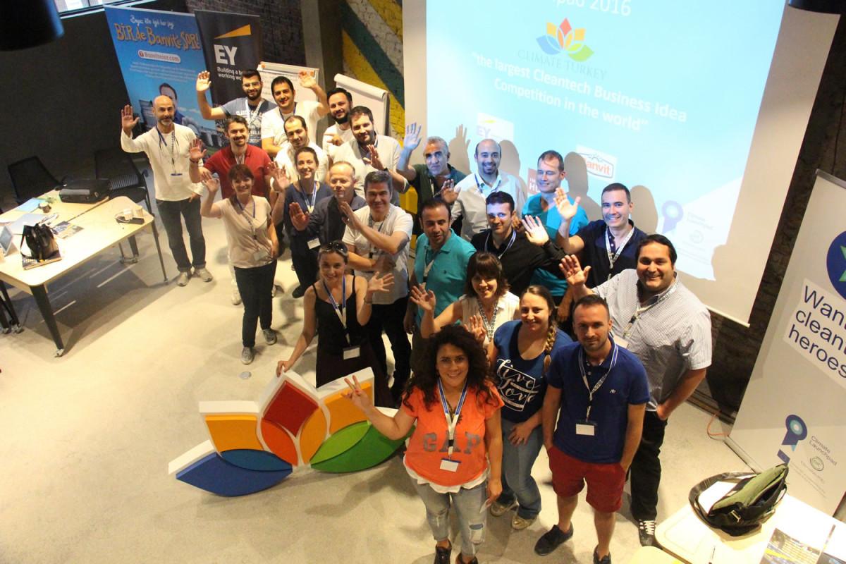 Climate Launchpad yarışması 2016 Türkiye Finali ge...