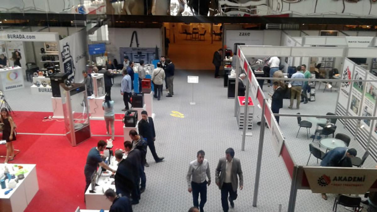 Yeni nesil tasarımcılar 3D PRINT EXPO'da 3.kez bul...