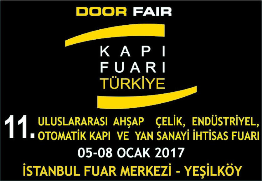 Yangına Dayanıklı Kapılar 'Door Fair Turkey'de Sergilenecek
