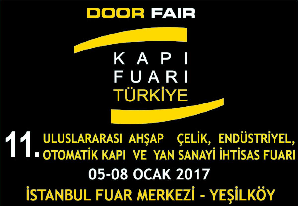 Yangına Dayanıklı Kapılar 'Door Fair Turkey'de Ser...