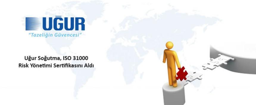 Uğur Soğutma ISO 31000 sertifikası aldı