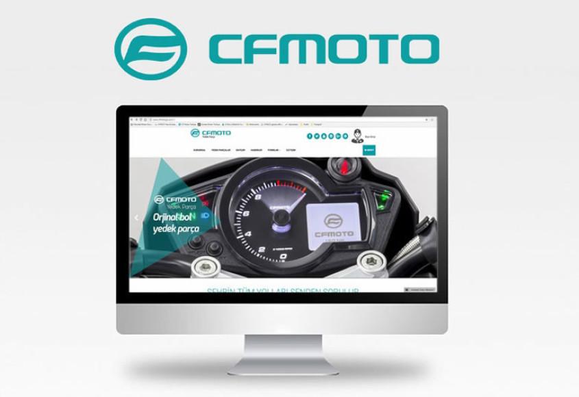 CF Moto yedek parçaları web üzerinden sipariş verilebilecek