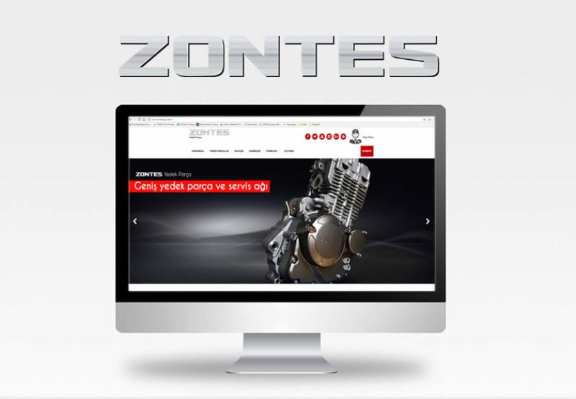Zontes motosikletler için yedek parça sitesi açıldı