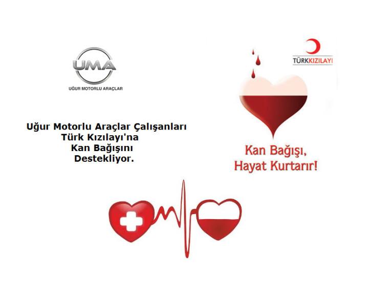 UMA Çalışanlarından Türk Kızılayı'na Kan Bağışı