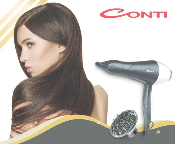 Conti, hayatın her alanında büyük işler başaran kadınların yanında!