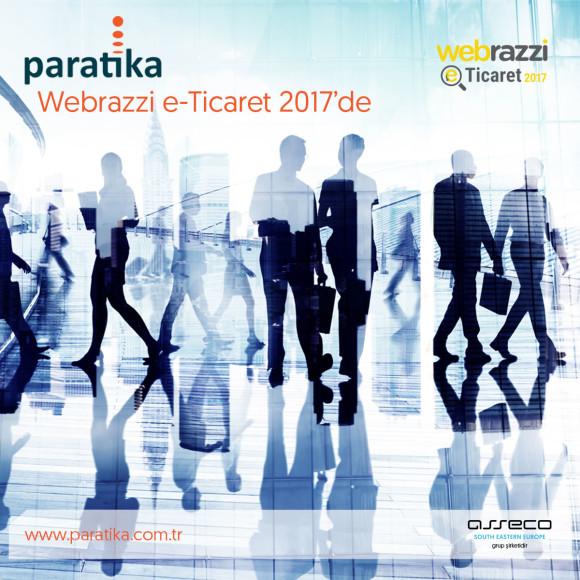 Paratika, Webrazzi E-Ticaret 2017'de e-ticaret sektörüyle buluşuyor