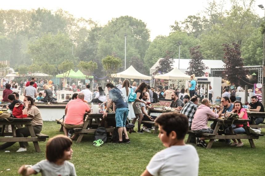 Açık Hava Gurme Lezzetler Festivali Yoğun İlgi Gördü