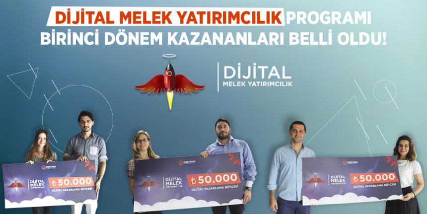 Dijital melek yatırımcılık programı birinci dönem kazananları belli oldu!