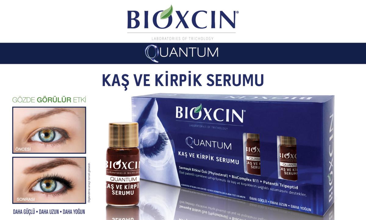 """""""Bioxcin Quantum Kaş ve Kirpik Serumu ile Daha Gür..."""