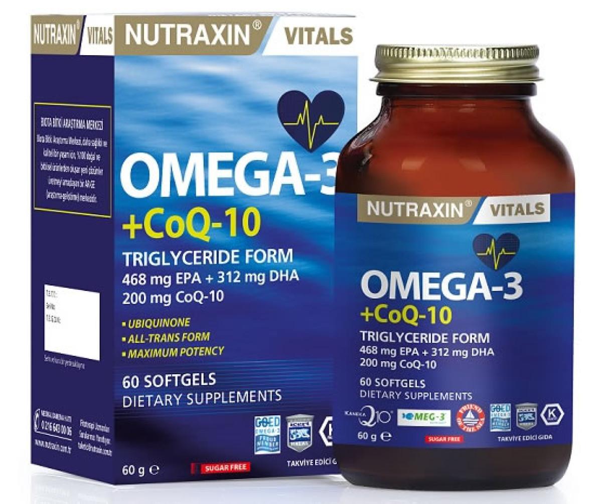 Omega3+KoenzimQ10' gıda takviyesi ile  yıllara mey...