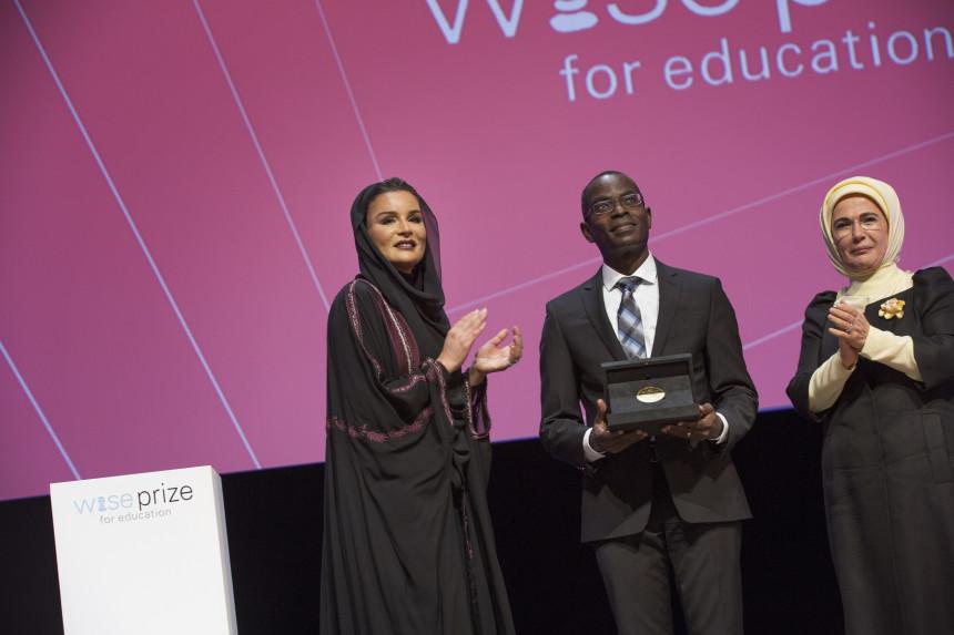 Eğitimin Nobel ödülü Emine Erdoğan'ın Doha'da açılışını yaptığı törenle sahibini buldu