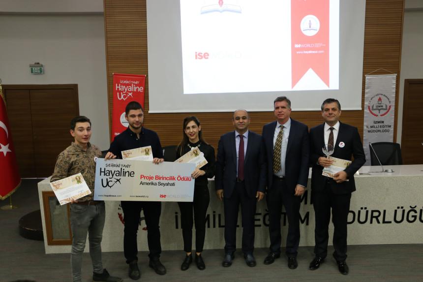 İzmirli öğrenciler Kanada'ya, hayallerine uçuyor