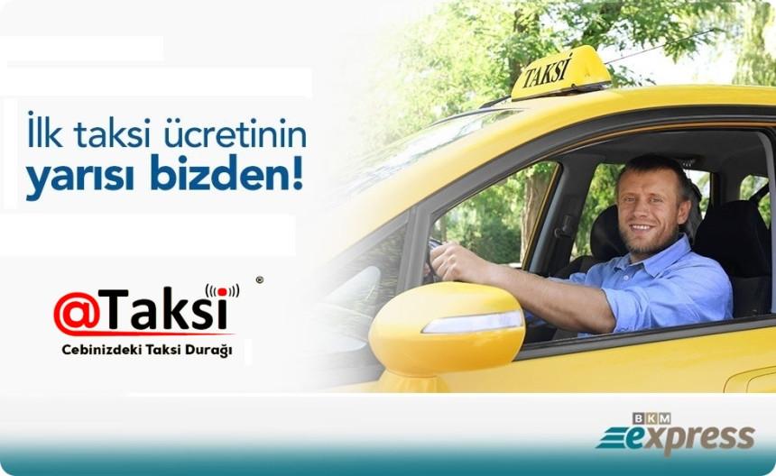 @Taksi'den yüzde 50 indirimli yolculuk kampanyası