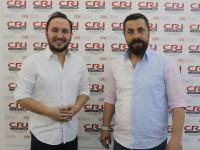 Tarihçi-Yazar Ahmet Anapalı ve program yapımcısı Türker Akıncı