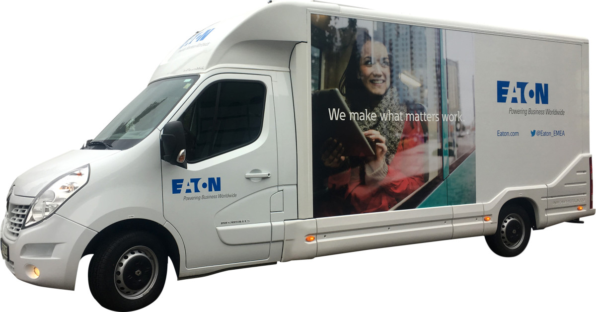 Eaton Teknoloji Karavanı Türkiye turuna çıktı