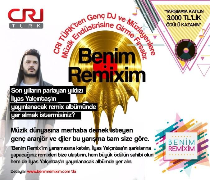 """CRI TURK Yetenekli Aranjör ve DJleri Arıyor """"İÇİNDEKİ YETENEĞİ GÖSTER"""""""