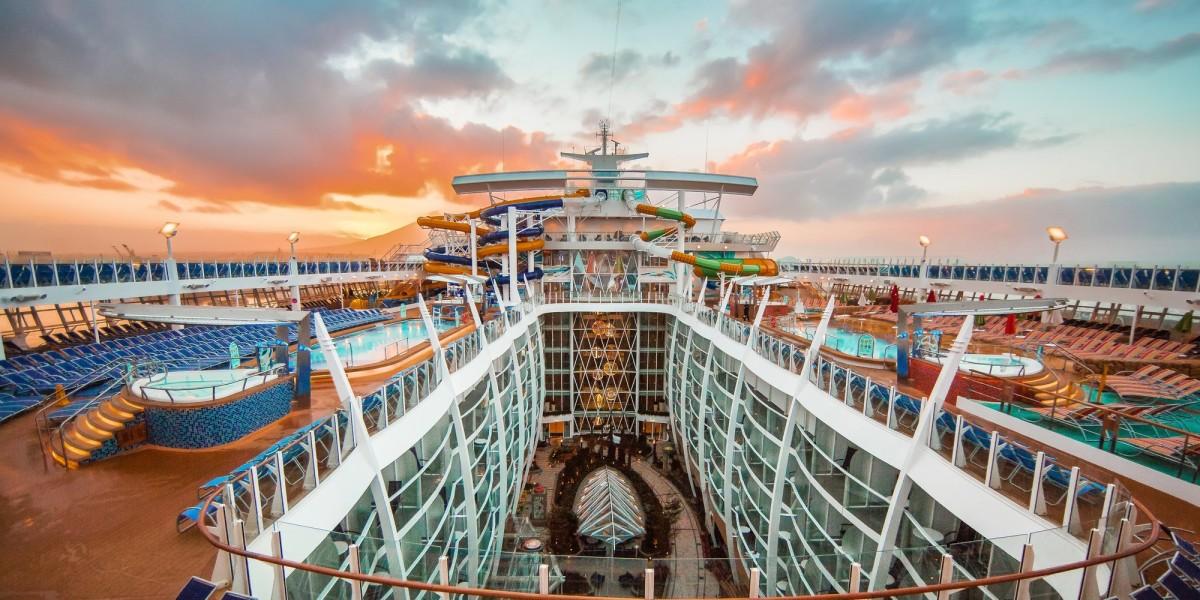 Dünyanın önde gelen cruise gemilerinde Polin Water...