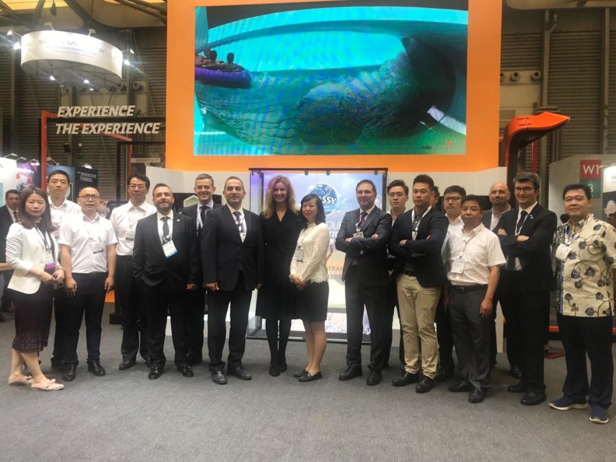 IAAPA Expo Asia Fuarı'nda Polin Waterparks Standın...