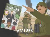 'Atatürk Bir Ulusun Kurtarıcısı' çizgi romanı