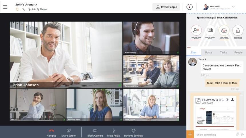 Avaya Spaces işbirliği yazılımını ücretsiz sağlayacak